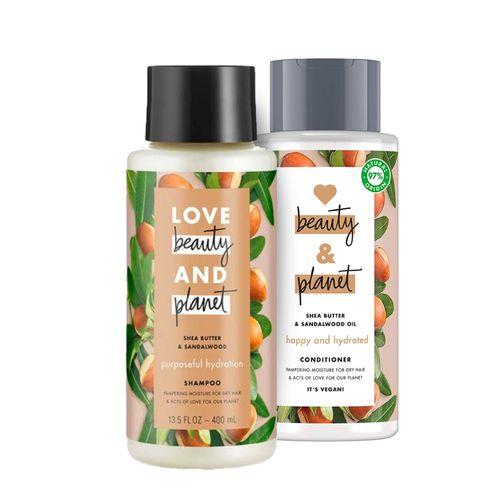 Shampoo-Y-Acondicionador-Love-Beauty---Planet-Manteca-De-Karite-Y-Sandalo